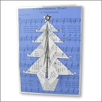 Origami Christmas Card Kits and Crackers
